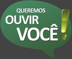 Queremos ouvir você!